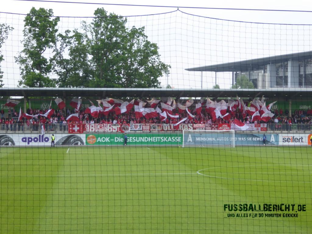 VfL Wolfsburg U23 – SSV Jahn Regensburg 1:0, Mi. 25.05.16