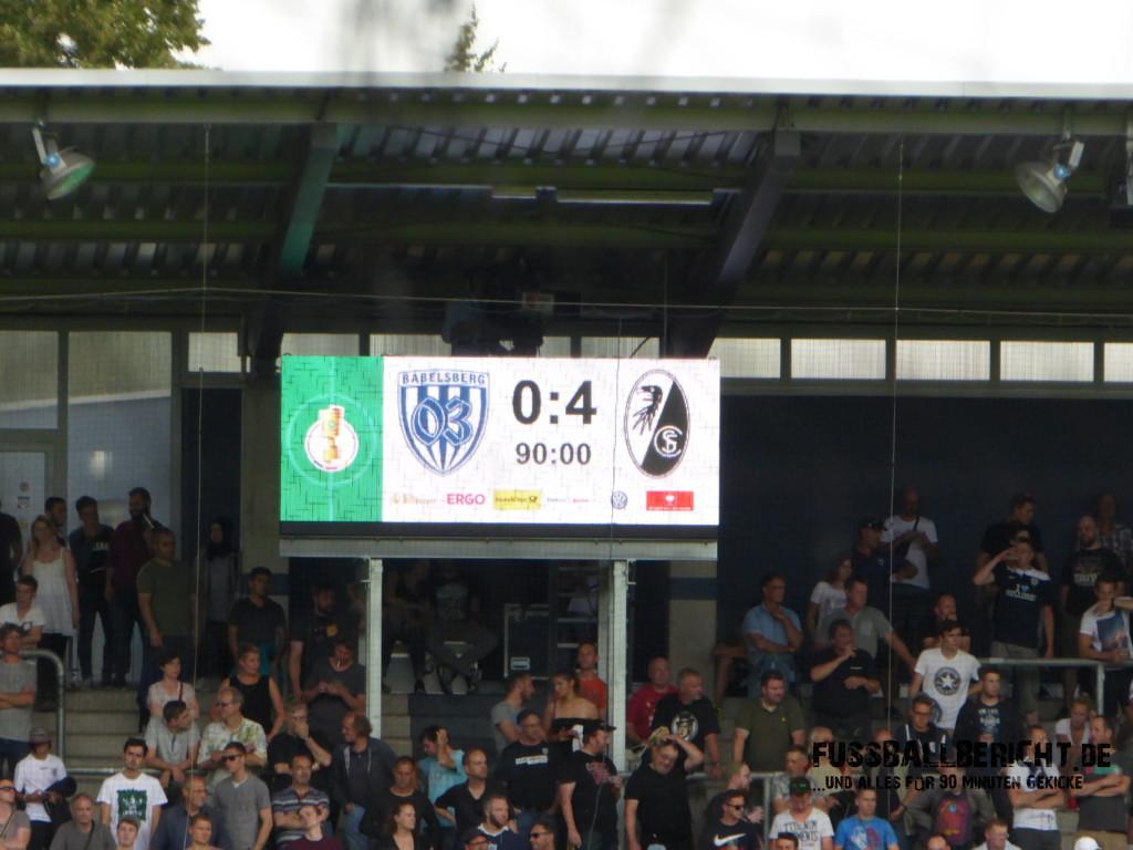 Babelsberg 03 – SC Freiburg 0:4, Sa. 20.08.16