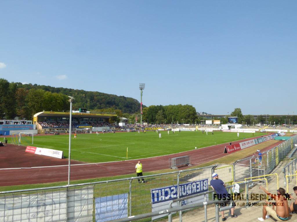 TuS Koblenz – Stuttgarter Kickers 1:1, Sa. 10.09.16
