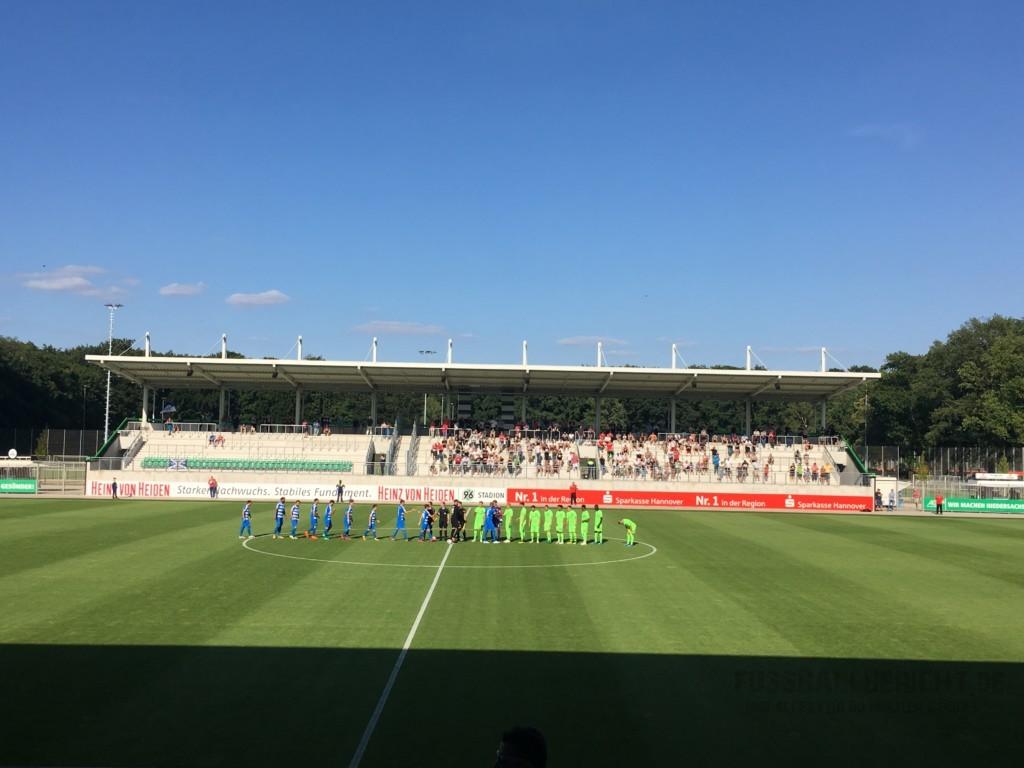 Hannover 96 – Wacker Nordhausen 2:0, Mi. 18.07.18