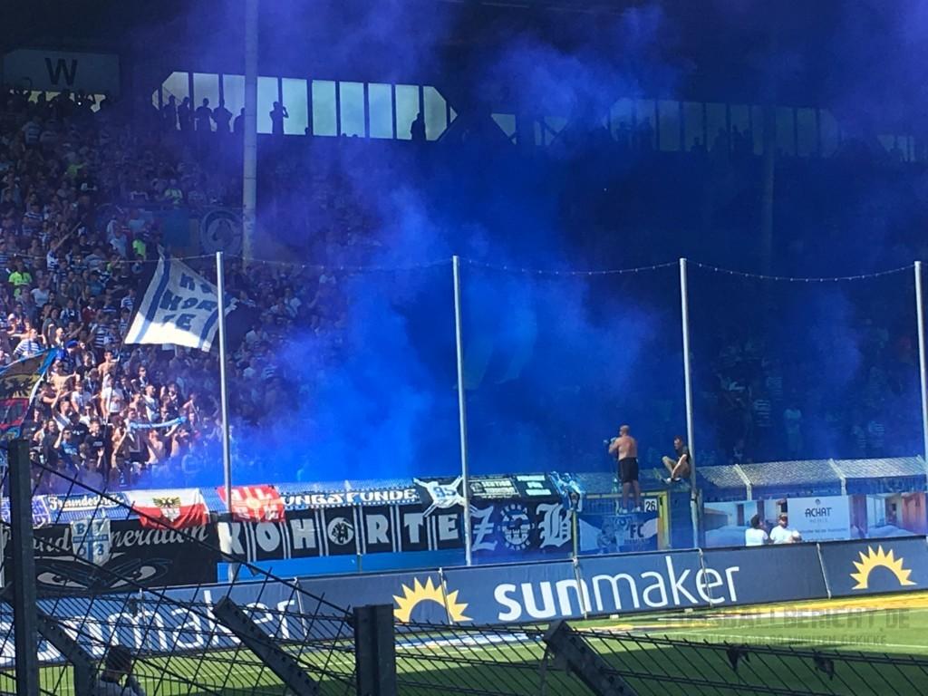 Waldhof Mannheim – MSV Duisburg 4:3, So. 25.08.19